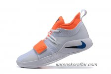 Herr Nike PG 2.5 EP Paul George Vit/Orange/Marinblå skor