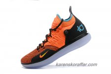 Herr Nike Zoom KD 11 Orange/Svart/Blå skor