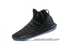 Herr Under Armour Curry 5 Mid Svart skor