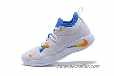 Herr Nike PG 2 EP Paul George Vit/Orange/Blå skor