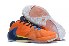 Nike Air Zoom Greek Freak 1 Orange/Marinblå Skor