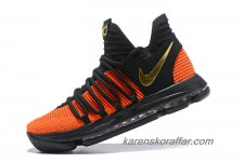 Herr Nike Zoom KD 10 Orange/Svart/Guld skor