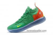 Herr Nike Zoom KD 11 Grön/Orange/Gul skor
