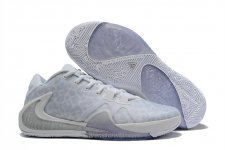 Nike Air Zoom Greek Freak 1 Vit/Silver Skor