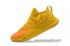Herr Under Armour Curry 5 Orange/Gul skor