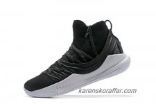 Herr Under Armour Curry 5 Mid Svart/Vit skor