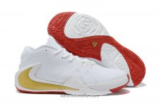 Nike Air Zoom Greek Freak 1 Vit/Guld Skor