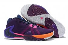 Nike Air Zoom Greek Freak 1 Lila/Orange/Rosa Skor