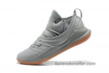 Herr Under Armour Curry 5 Grå/Brun skor