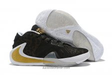Nike Air Zoom Greek Freak 1 Svart/Guld Skor