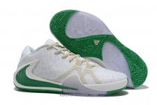 Nike Air Zoom Greek Freak 1 Vit/Kaki/Grön Skor