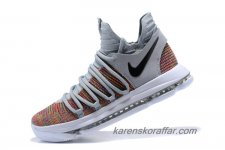 Herr Nike Zoom KD 10 Orange/Grå/Svart skor