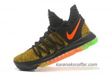 Herr Nike Zoom KD 10 Gul/Orange/Svart skor