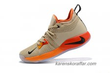 Herr Nike PG 2 EP Paul George Kaki/Orange/Röd/Svart skor