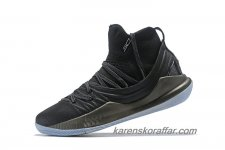 Herr Under Armour Curry 5 Mid Svart/Mörkgrå skor